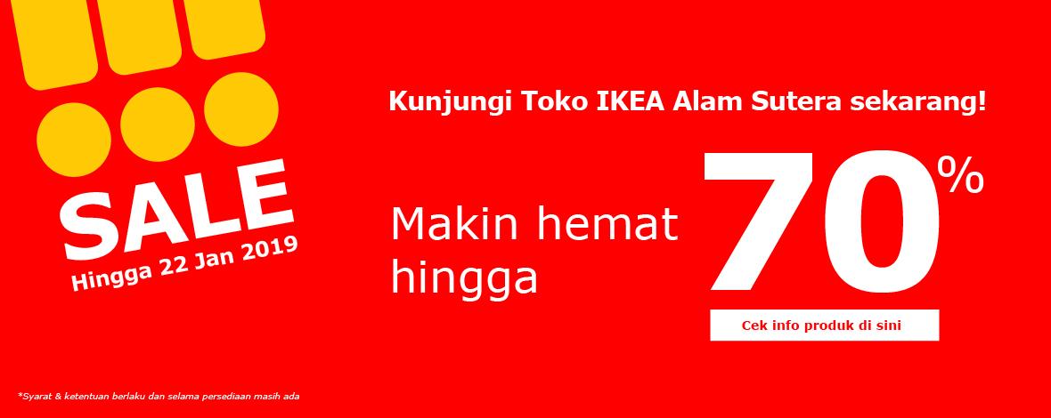 IKEA Pangkas Harga Hingga 70% Agar Belanja Makin Hemat